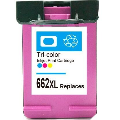 Cartucho Hp 662 XL Colorido 2515 3515 662XL CZ106AB Compativel 15ml