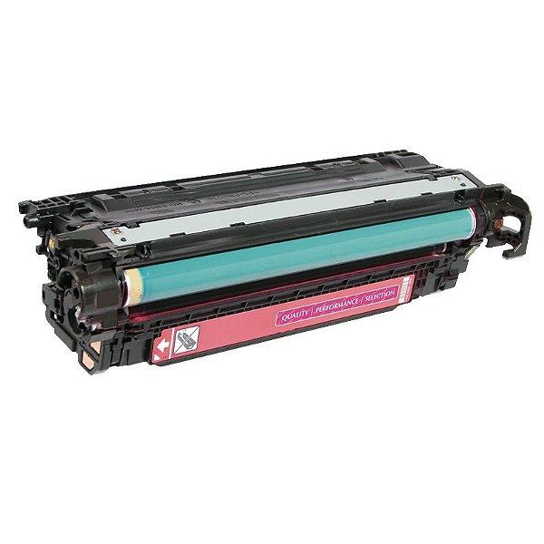 Toner Compatível HP 504A CE253A Magenta CM3530 CP3525DN