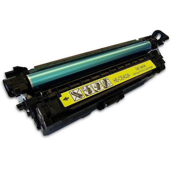 Toner Compatível HP 507A CE402A Amarelo M551DN M570DN M575F