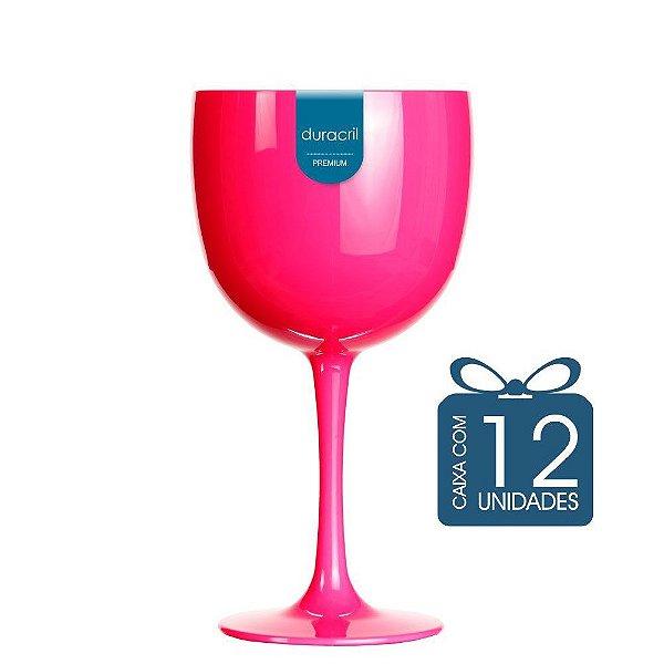 12 Taças de Gin 580 Ml Pink