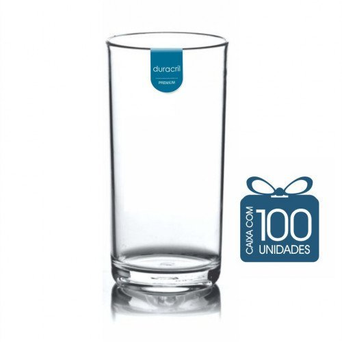 100 Copos Liverpool 380 ml Transparente