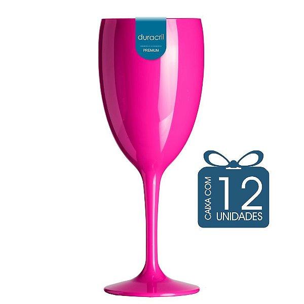 12 Taças Victória 400 ml Pink