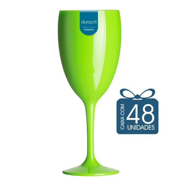 48 Taças Victória 400 ml Verde