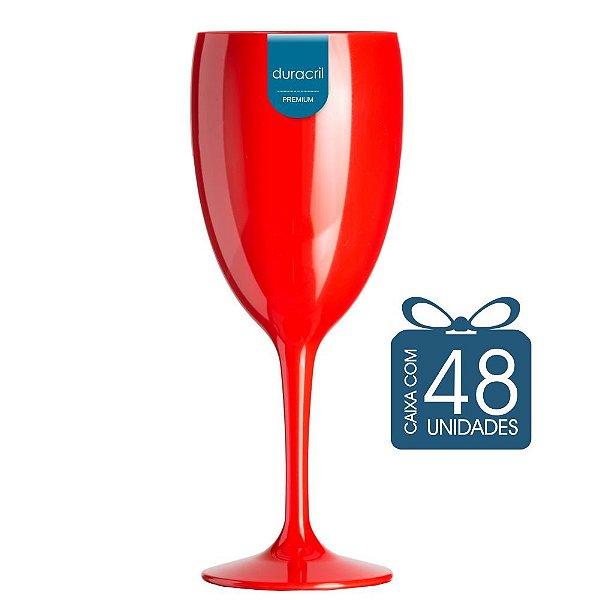 48 Taças Victória 400 ml Vermelha