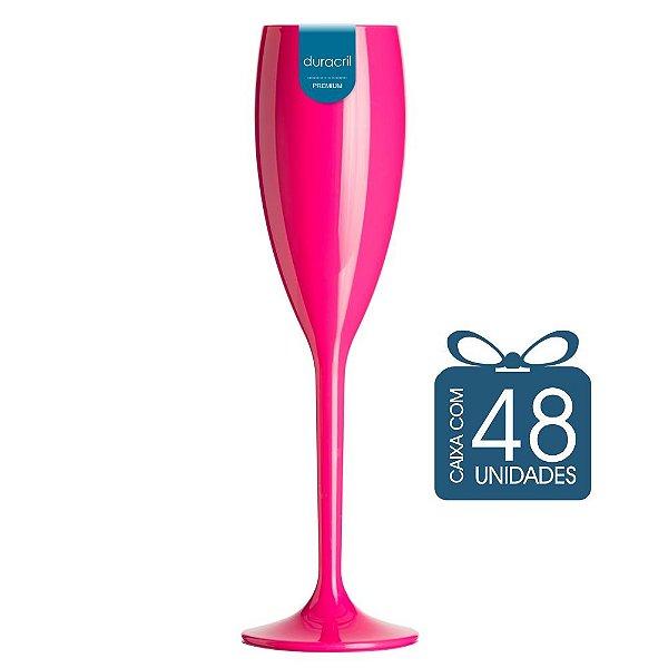 48 Taças Champagne 160 ml Pink
