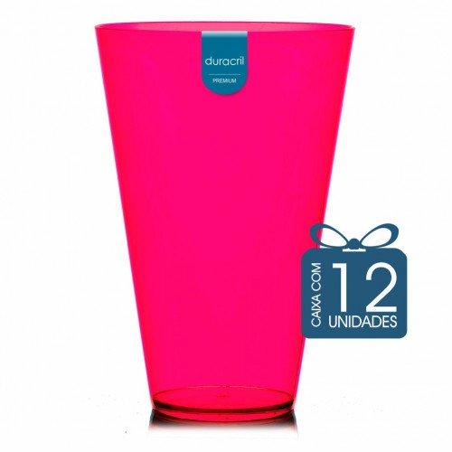 12 Copão Monster 2 litros Rosa Neon