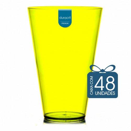 48 Copão Monster 2 litros Amarelo Neon