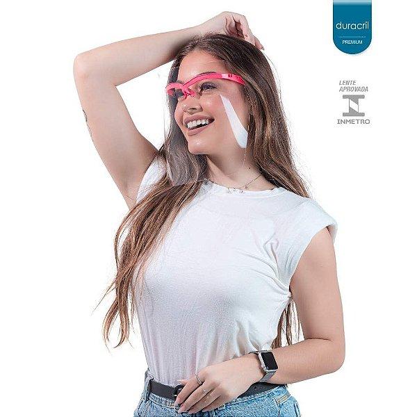 Máscara de Proteção Facial Coral