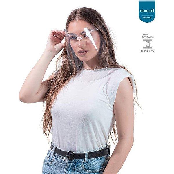 Máscara de Proteção Facial Transparente