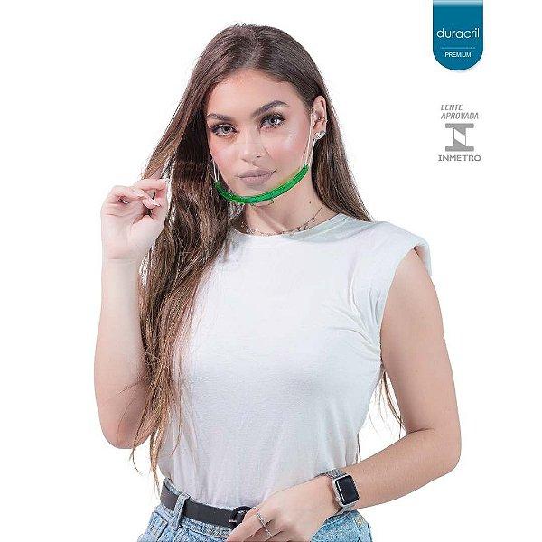 Máscara Semi Facial Verde