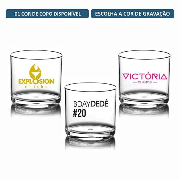 Kit Copos Whisky 320ml Personalizados