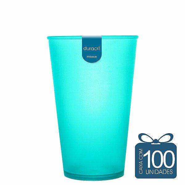 100 Copos Ecológico Biodegradável 550 ml Verde Claro