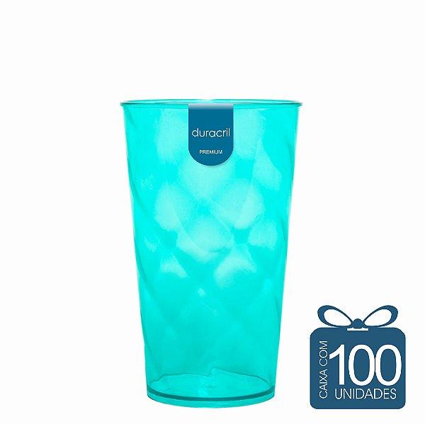 100 Copos Twister 500 ml Verde Claro