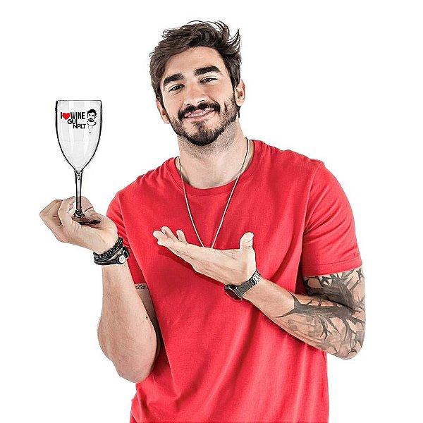 Taça Victória 400ml GUI NPLT I Love Wine Transparente