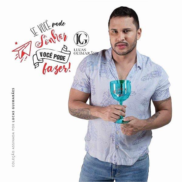 Taça de Gin LUCAS GUIMARÃES Verde Claro Translúcido