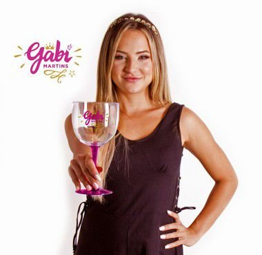 Taça de Gin Bicolor GABI MARTINS Princesa