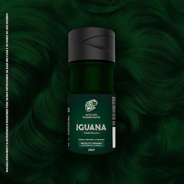 Máscara Pigmentante Verde Escuro Kamaleão Color 150ml - Iguana