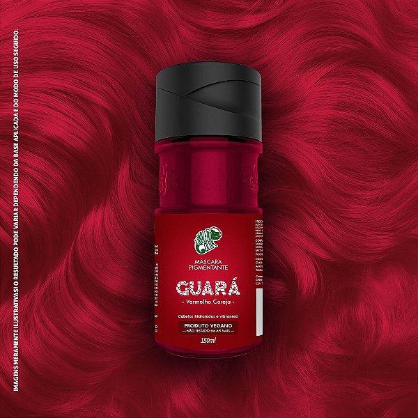 Máscara Pigmentante Vermelho Cereja Kamaleão Color 150ml - Guará