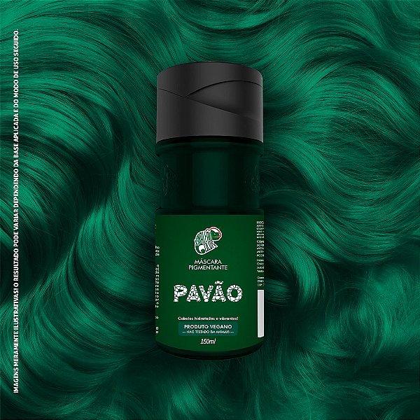 Máscara Pigmentante Verde Kamaleão Color 150ml - Pavão