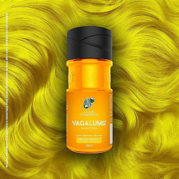 Máscara Pigmentante Amarelo Neon Kamaleão Color 150ml - Vagalume