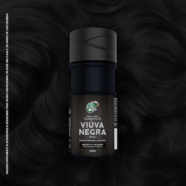 Máscara Pigmentante Preto Kamaleão Color 150ml - Viúva Negra