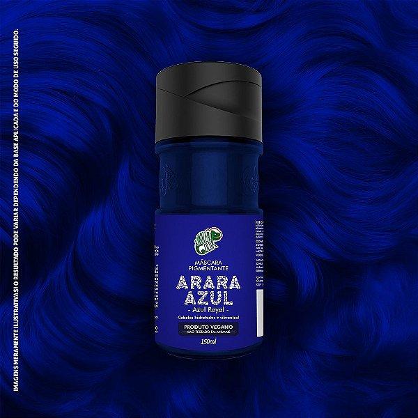 Máscara Pigmentante Azul Royal Kamaleão Color 150ml - Arara Azul