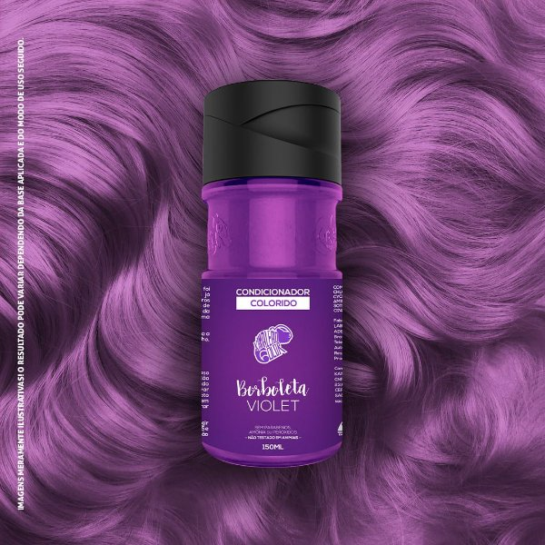 Condicionador Colorido Violet Kamaleão Color 150ml - Borboleta