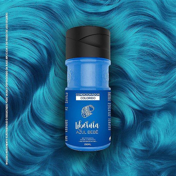 Condicionador Colorido Azul Bebê Kamaleão Color 150ml - Libélula