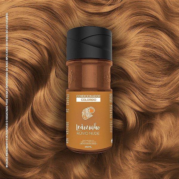 Condicionador Colorido Ruivo Nude Kamaleão Color 150ml - Leãozinho