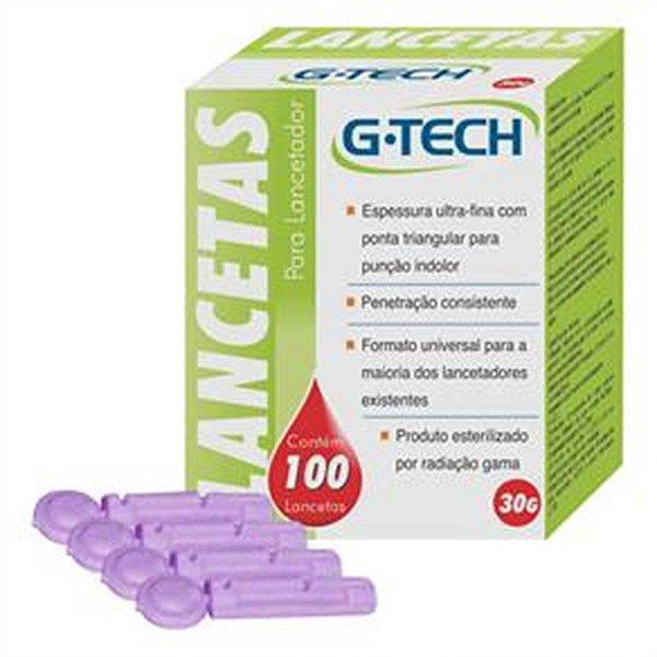 Lancetas G-Tech c/ 100