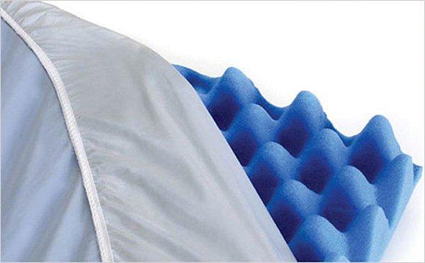 Capa PVC para Colchão, Travesseiro e Forração Caixa de Ovo