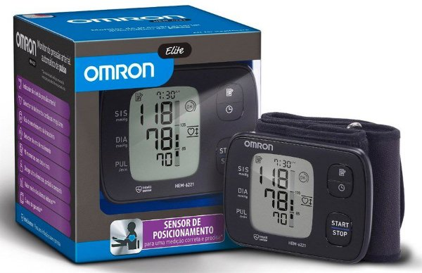 Aparelho de pressão digital de pulso Omron HEM 6221