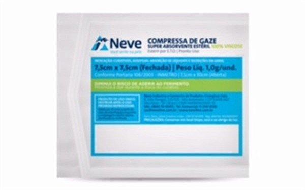 Compressa de gaze (viscose)