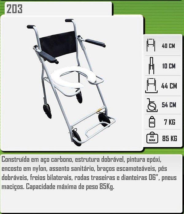 Cadeira Higiênica 203 CDS