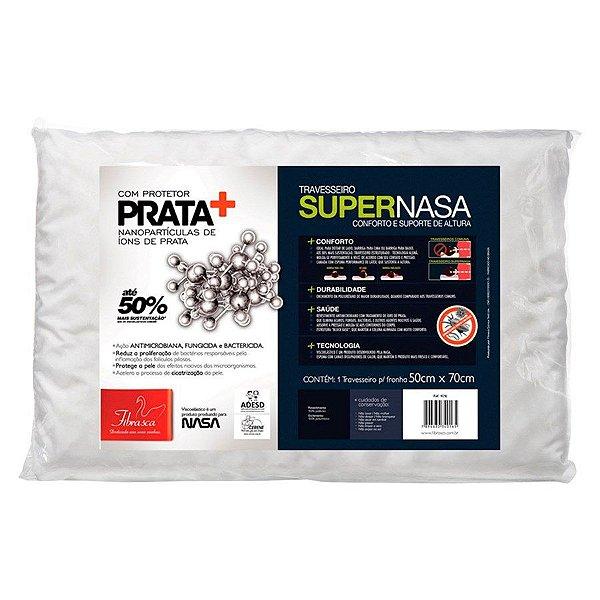 Travesseiro Super Nasa com Íons de Prata Fibrasca