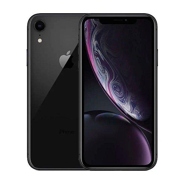 Smartphone Apple iPhone XR 64GB 3GB Preto Seminovo