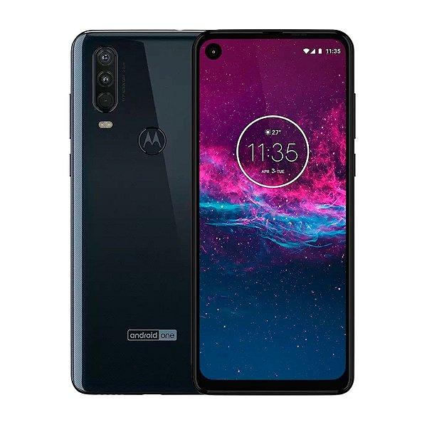 Smartphone Motorola One Action 128GB 4GB Azul Seminovo