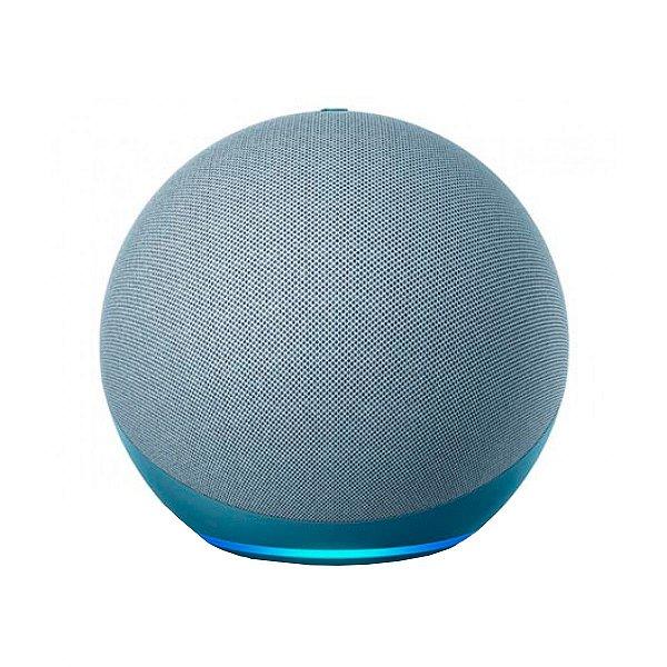 Caixa de Som Amazon Echo Dot 4º Geração Azul