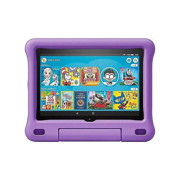 Tablet Amazon Fire HD8 Kids Edition 32GB 2GB Roxo - 2020