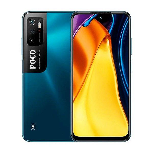 Smartphone Poco M3 PRO 5G 128GB 6GB Azul