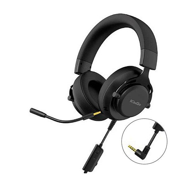 Headset Gamer KinGo F08 - PS4 / Xbox / PC