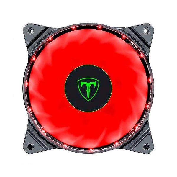 Fan T-Dagger Solid T-TGF200 120x25mm LED Vermelho