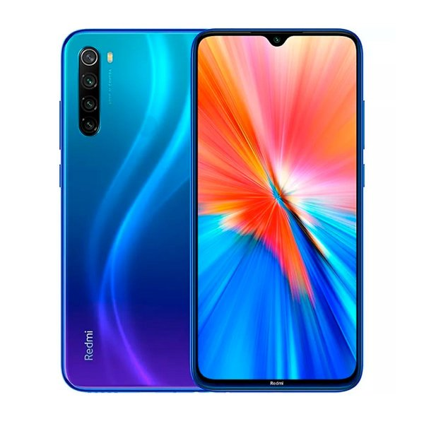 Smartphone Xiaomi Redmi Note 8 2021 128GB 4GB Azul