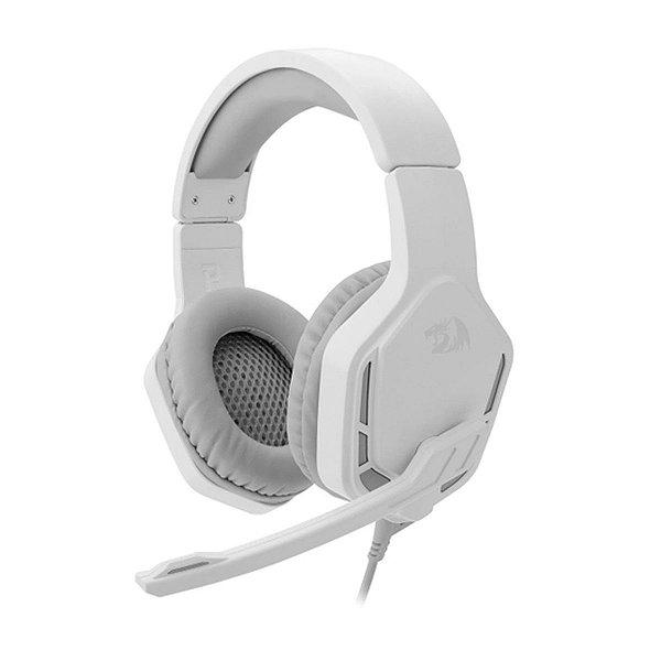 Headset Redragon Solid Themis 2 Branco - PC / Celular / Notebook