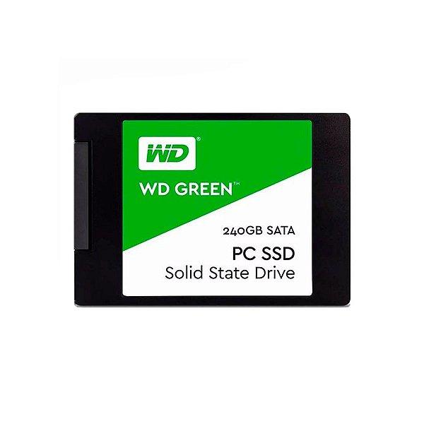 "HD Interno SSD 240GB WD Green Plus 2.5"""