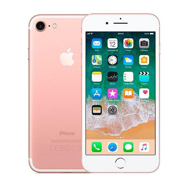 Smartphone Apple iPhone 7 128GB 2GB Rose Gold Seminovo