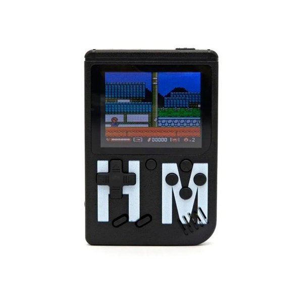 Console Fliperama Portátil H'Maston 1 Controle + 400 Jogos