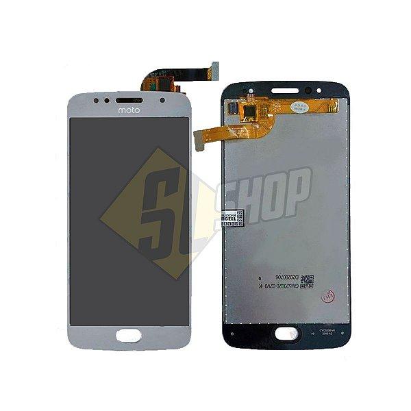 Pç Motorola Combo Moto G5S Prata