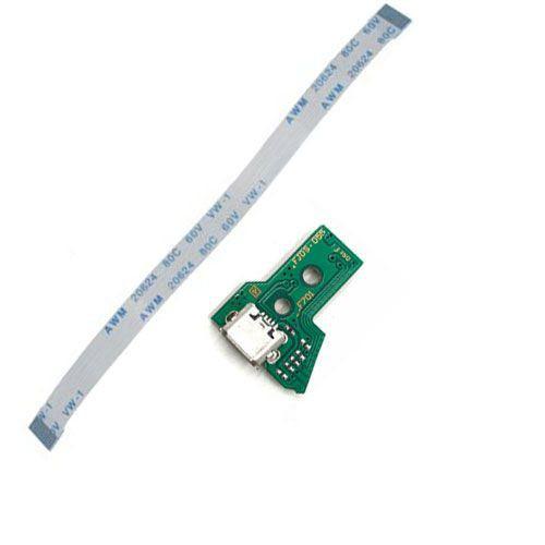 Pç PS4 Controle PCB USB com cabo JDS055