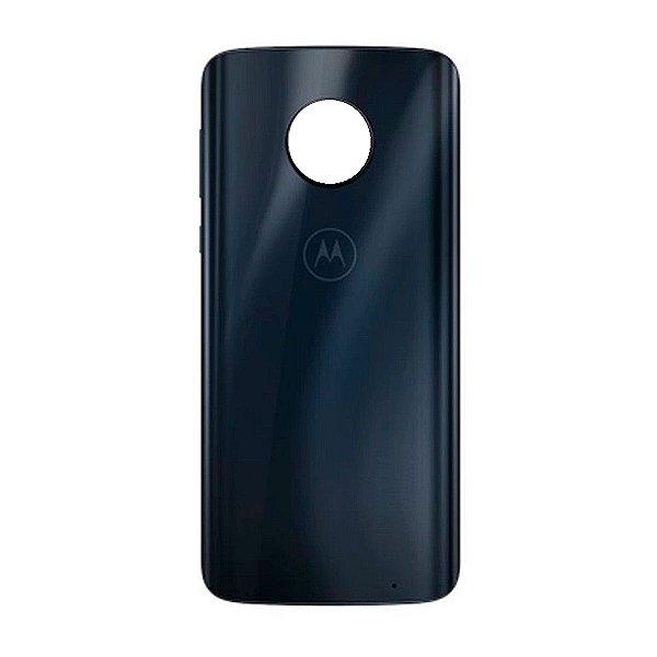 Pç Motorola Tampa Traseira G6 Play Azul Indigo